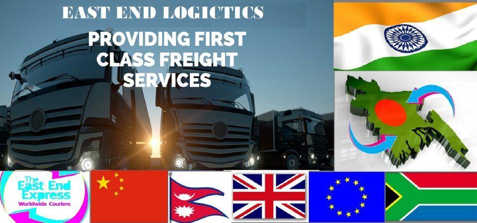 cargo to Bangladesh India China Nepal